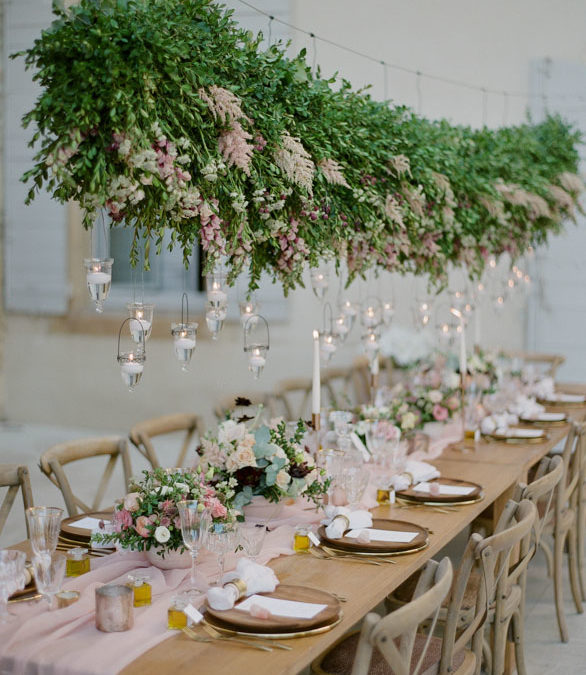 A wedding in a Bastide in Lourmarin