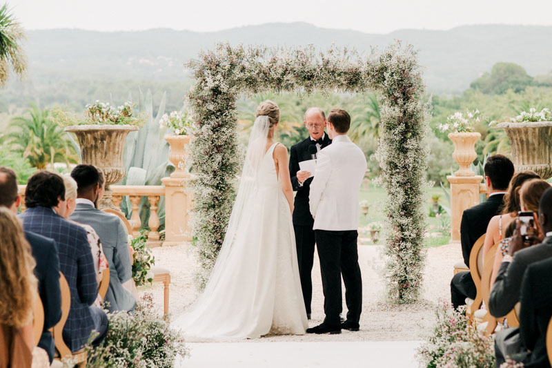 A wedding at Château de Robernier
