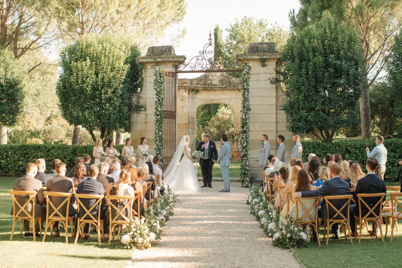 A wedding at Château Talaud