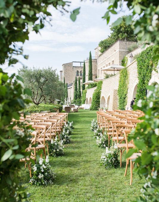 A Wedding at Bastide de Gordes